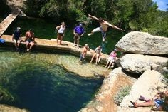 For individuals who are not tempted to discover the mystery of the well, Jacob's well is a natural spring great for a family outing
