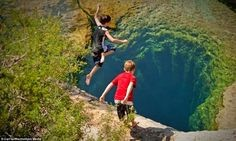 Jacob's Well lingers as a magnificent and yet mysterious wonder